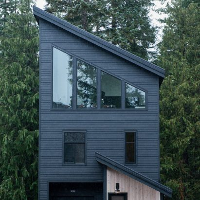 Alpine Noir Chalet by Keystone Architecture and Casework