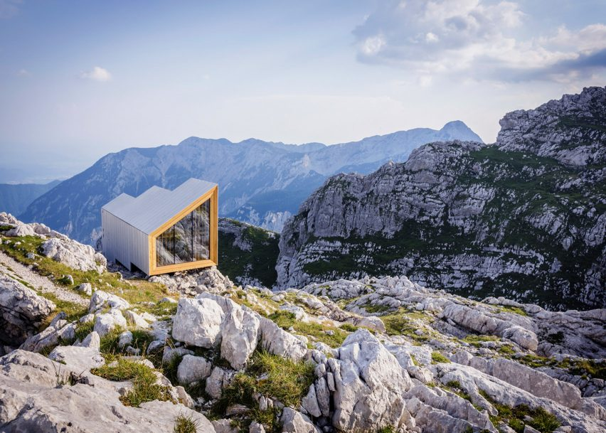 Alpine Shelter Skuta by Ofis