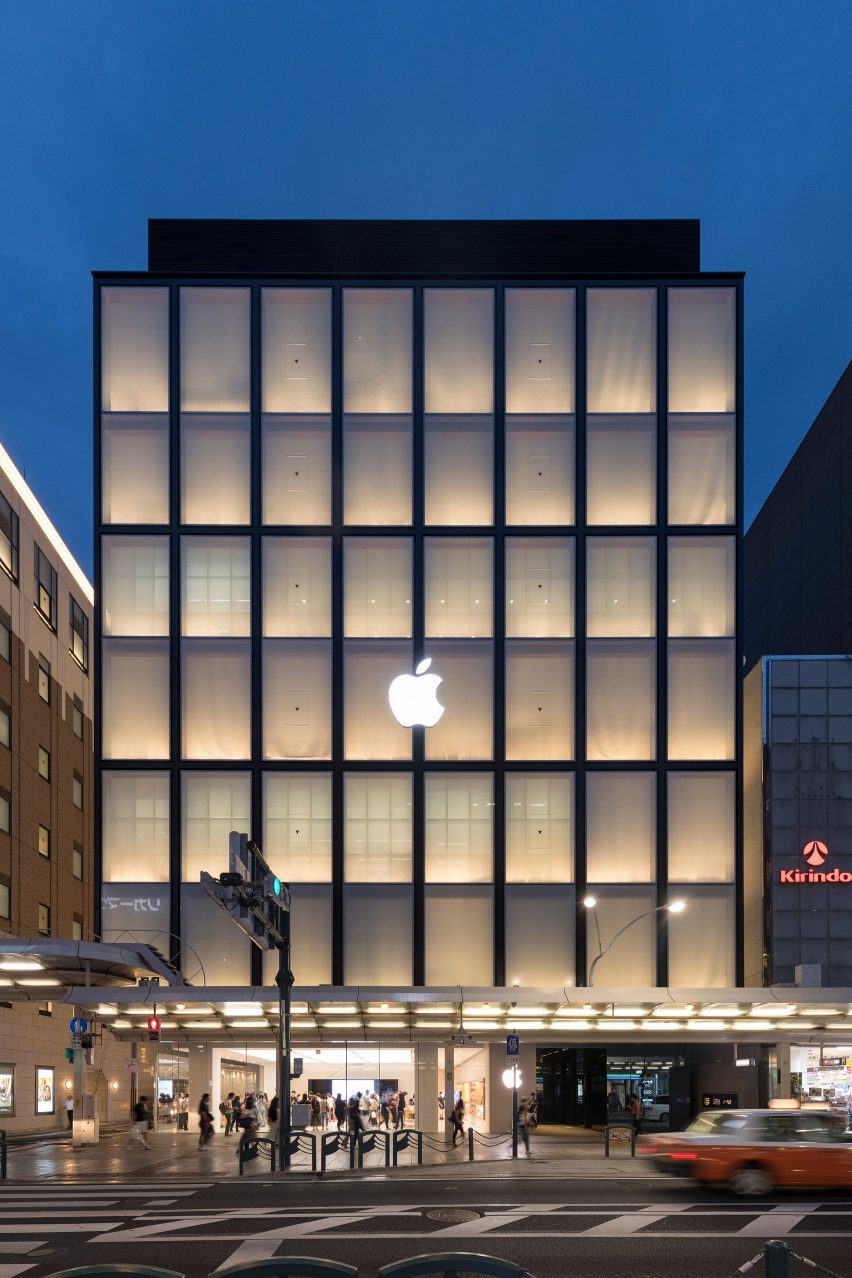 Foster Partners Models Apple Store Kyoto On Traditional Japanese - Architecture-design-in-kyoto-japan