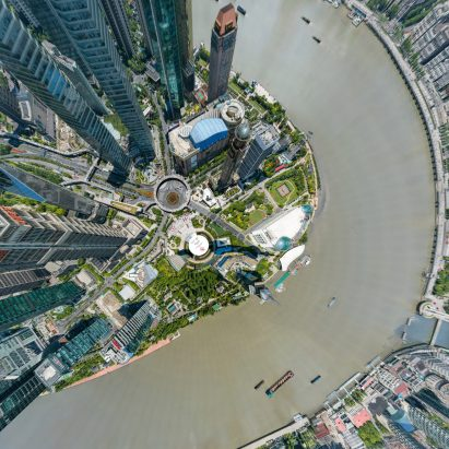 195-gigapixel photo of Shanghai by Bigpixel Technology