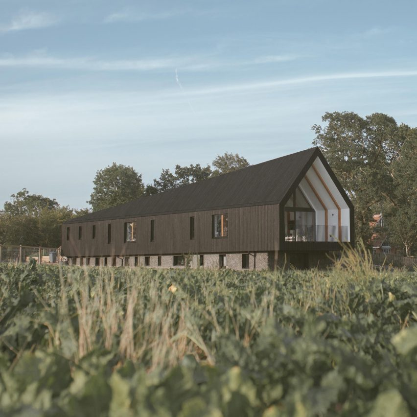Black Barn by Studio Bark in Suffolk, England