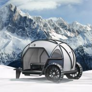 BMW and North Face debut futuristic Futurelight camper concept at CES