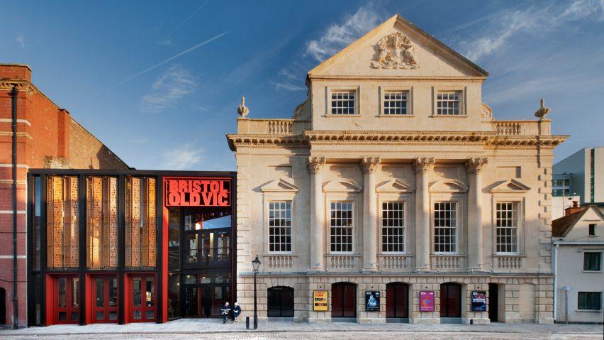 Bristol's Old Vic Theatre by Haworth Tompkins