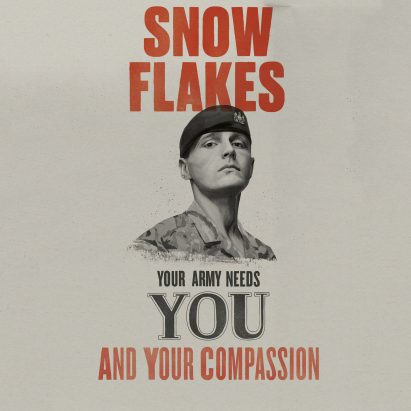 "British Army calls on ""snowflakes"" and ""millennials"" in recruitment drive"