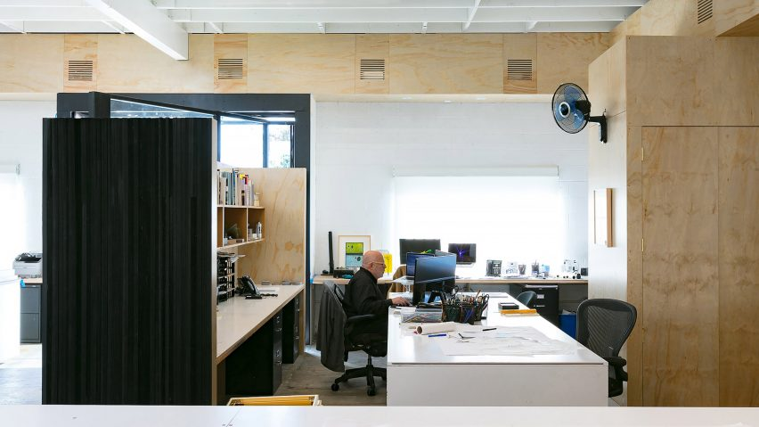 Brooks+Scarpa Architects' architecture studio photographed by Marc Goodwin