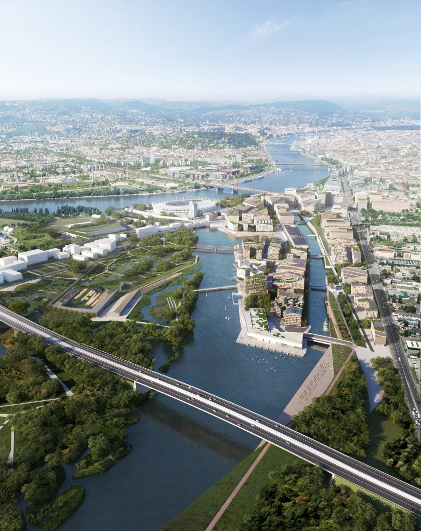 Budapest South Gate masterplan by Snøhetta