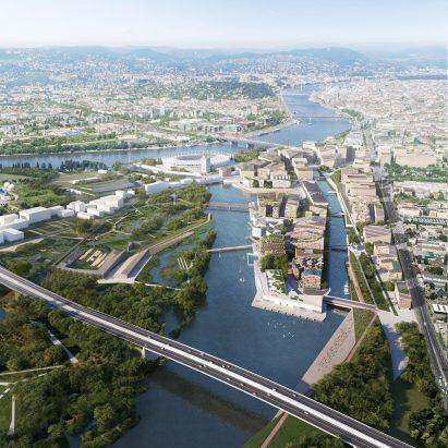 Budapest South Gate masterplan by Snøhetta