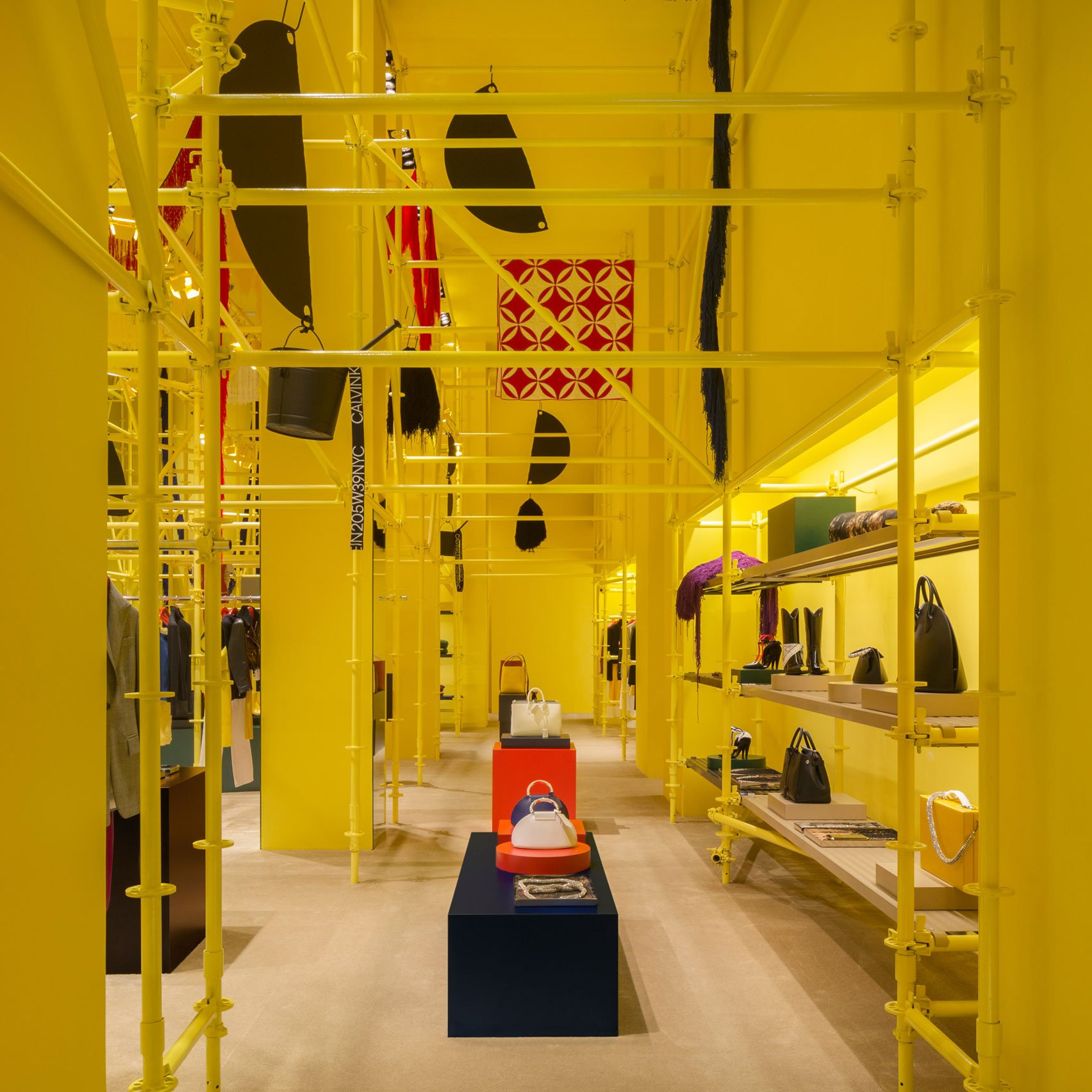 2e95759c43579 Calvin Klein to close and rebrand yellow New York store by Raf Simons