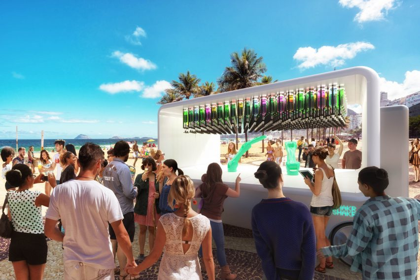 Carlo Ratti designs driverless bar called Guido