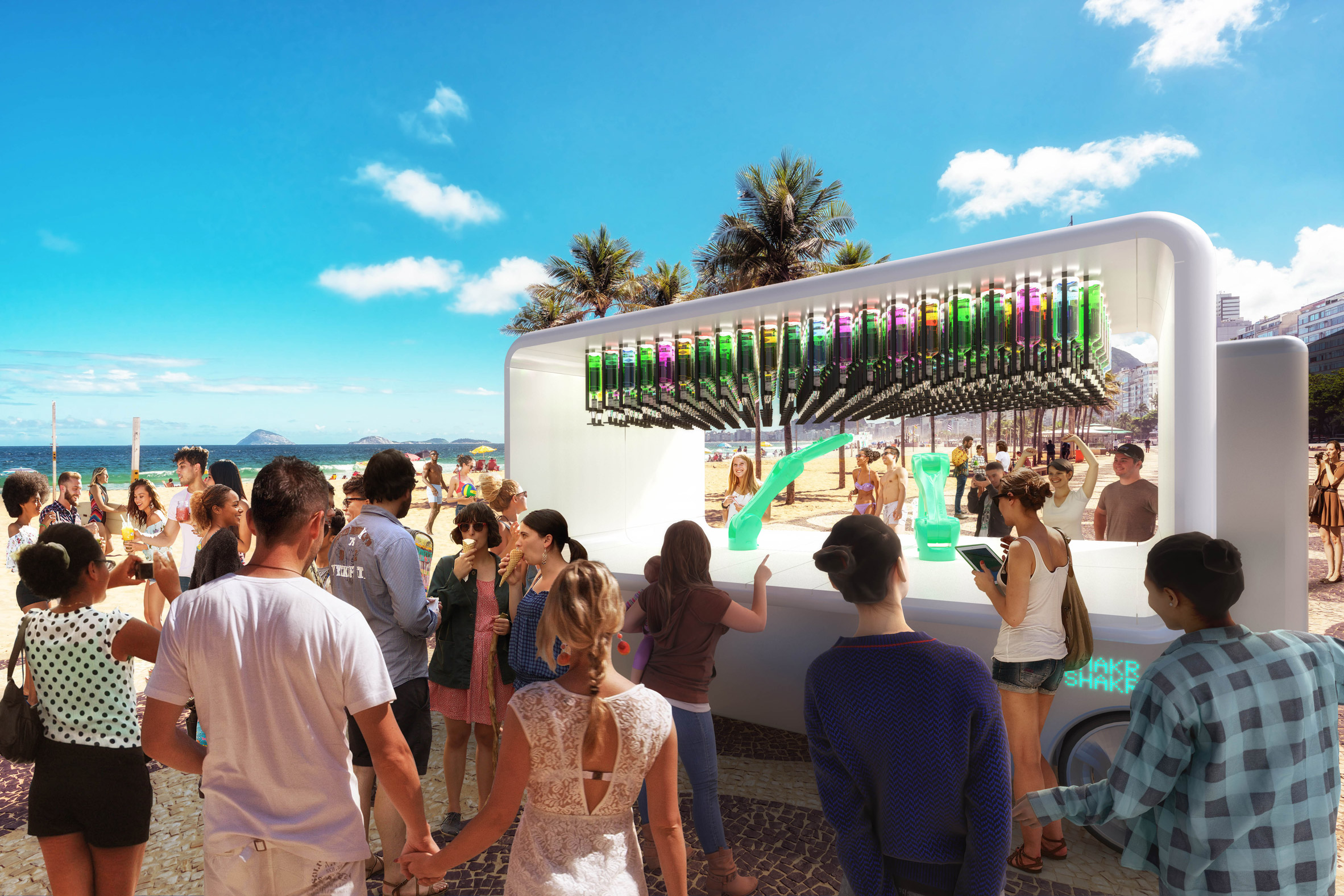 Carlo Ratti designs driverless bar called Guido
