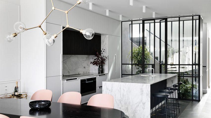 Biasol looks to Parisian apartments for interior of Melbourne home Casa Atrio