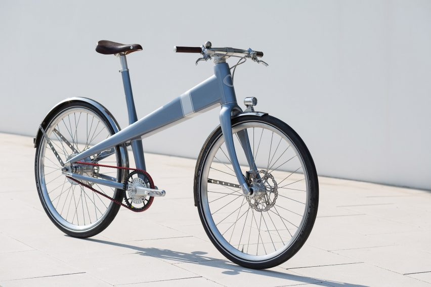 French bicycle company Coleen pays homage to Jean Prouvé's 1941 design with latest e-bike