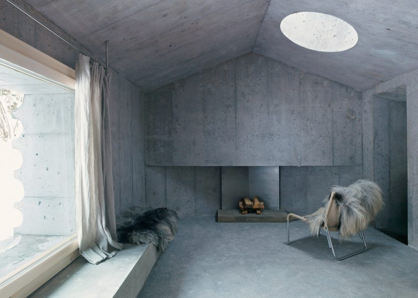 Concrete Cabin by Nickisch Sano Walder Architects