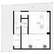 Ground floor plan of Cover House by Apollo Associates