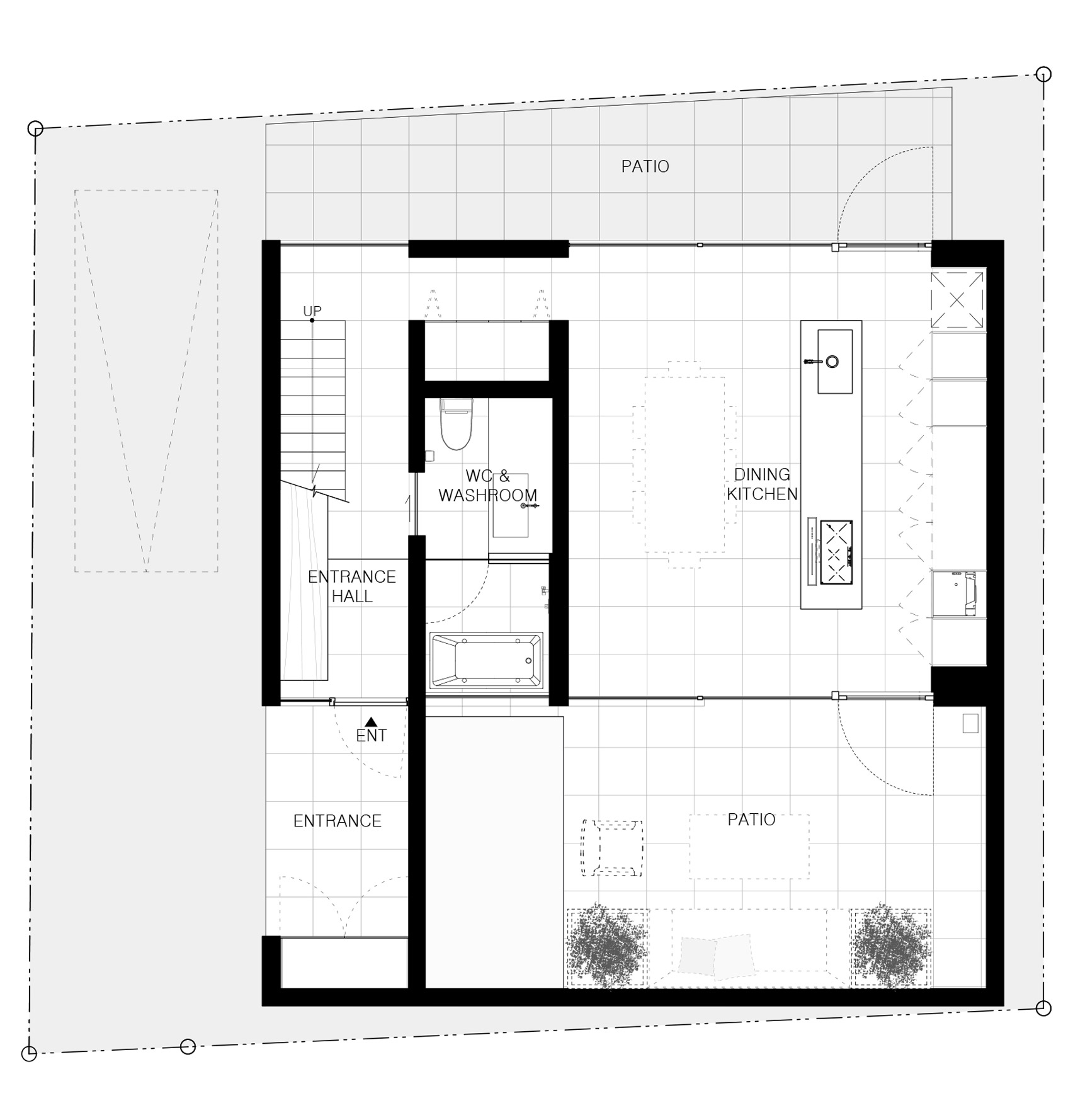 Apollo Architects Associates Hides Courtyard Behind Cover House S Metal Facade