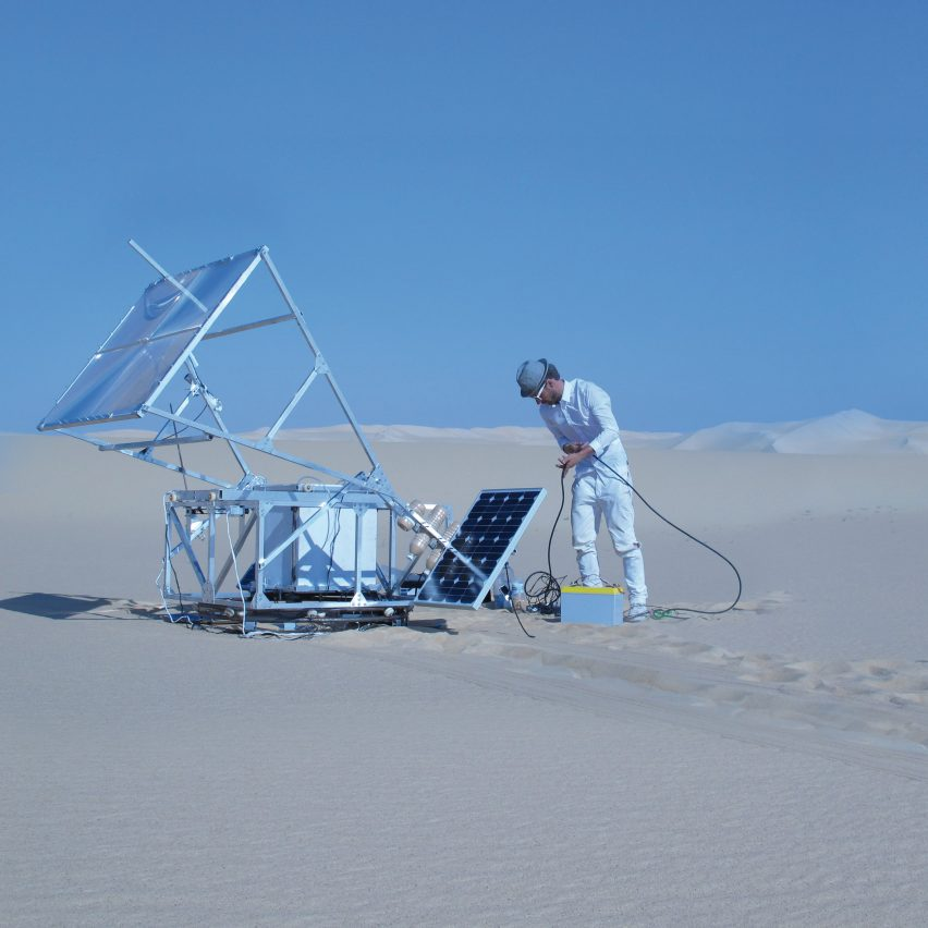 Markus Kayser will present his design and technology projects, which include The Solar Sinter
