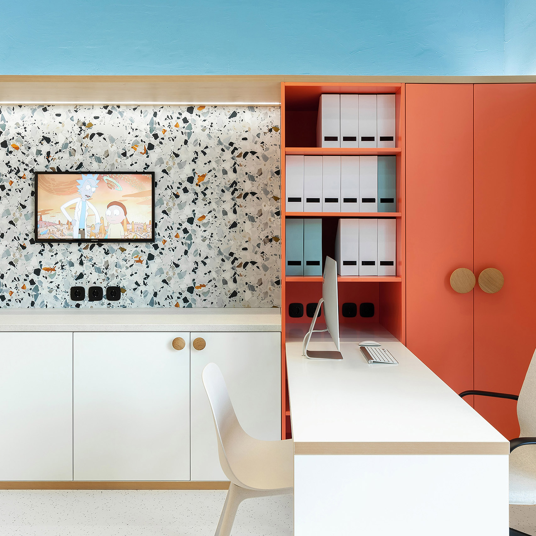 Ater Architects Creates A Friendly Interior For Doctor U Children S Clinic In Kyev