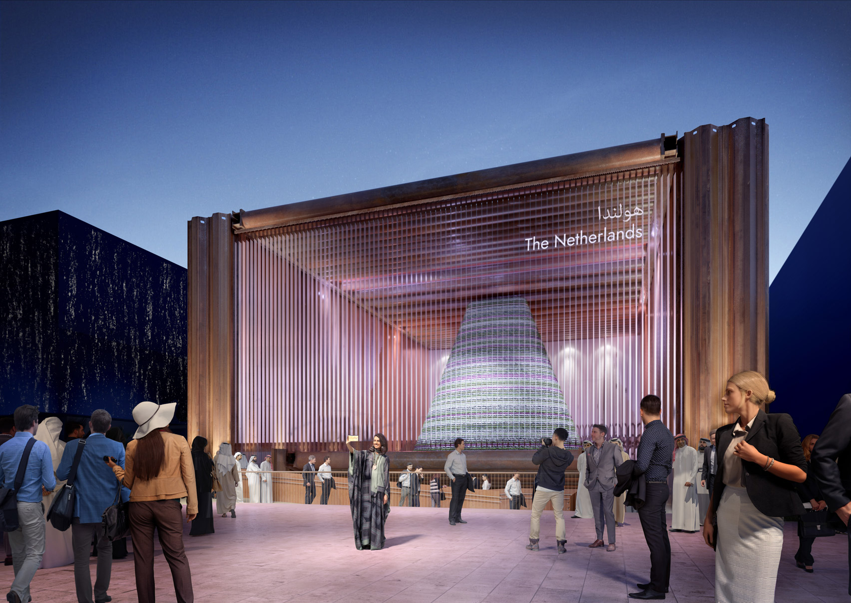 Dutch Pavilion at Dubai Expo 2020