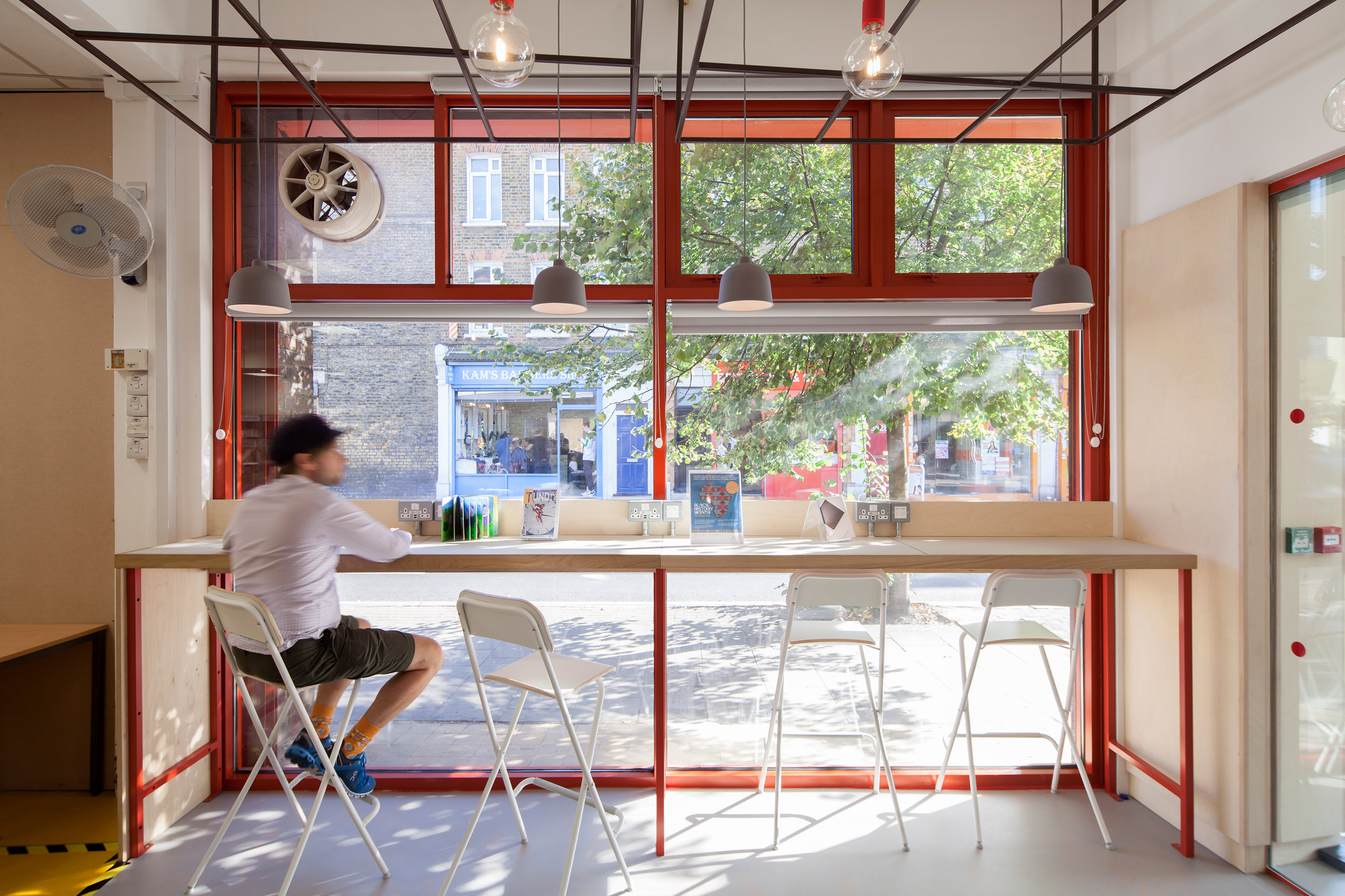 Interiors of East Street Exchange by We Made That