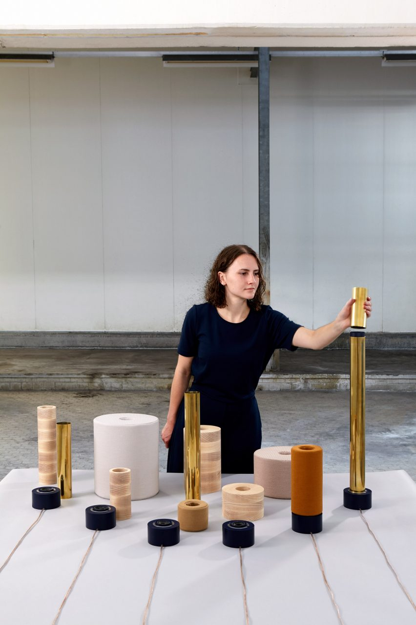 Tessa Spierings' Echo tactile sound system explores the acoustic properties of materials