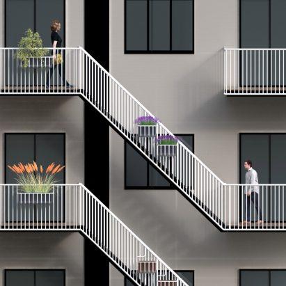 Balcony Architecture And Design Dezeen - Curvy-spiral-house-design