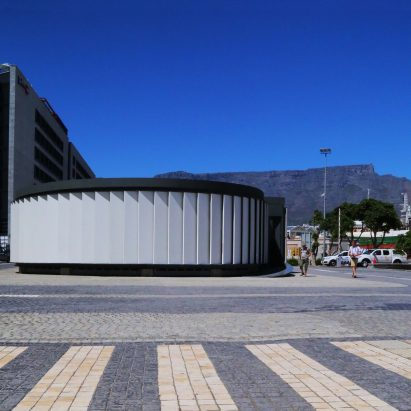 Es Devlin designs concrete-clad pavilion in Cape Town for Design Indaba 2019