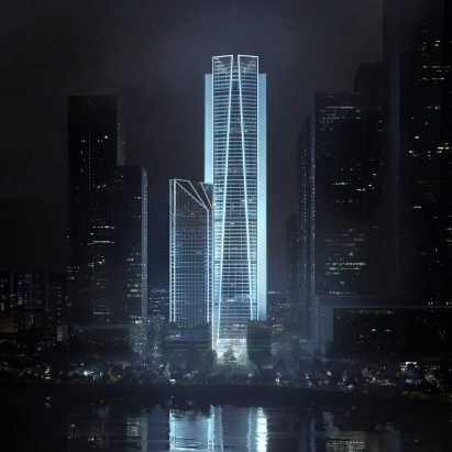 China Merchants Bank skyscraper by Foster + Partners in Shenzhen