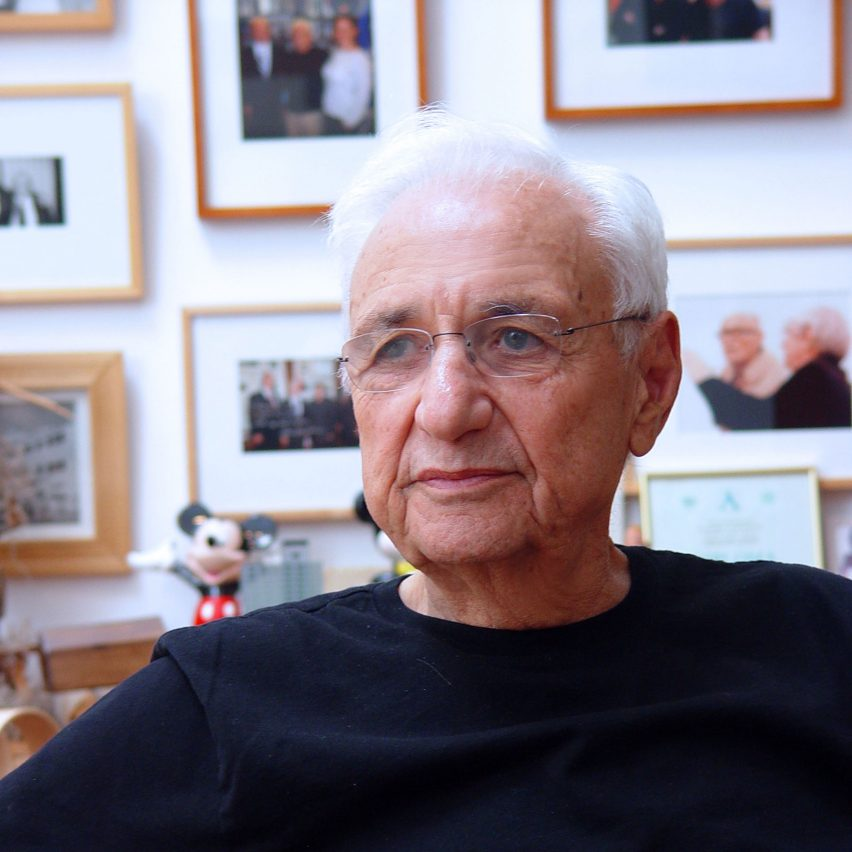 Portrait of Frank Gehry