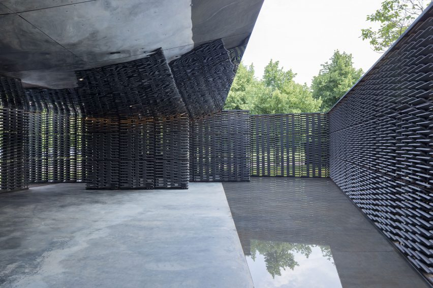 Serpentine Gallery Pavilion by Frida Escobedo