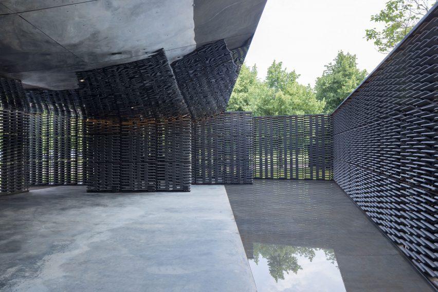Serpentine Gallery Pavilion by Frida Escobedo