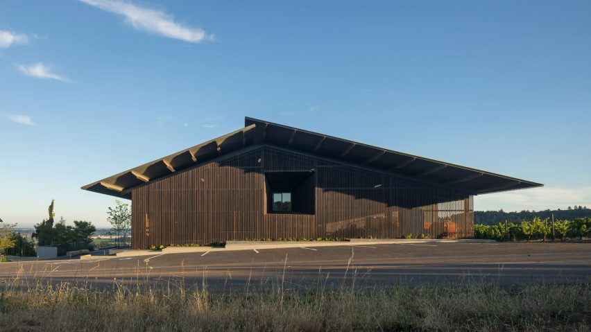 Furioso Vineyards by Waechter Architecture