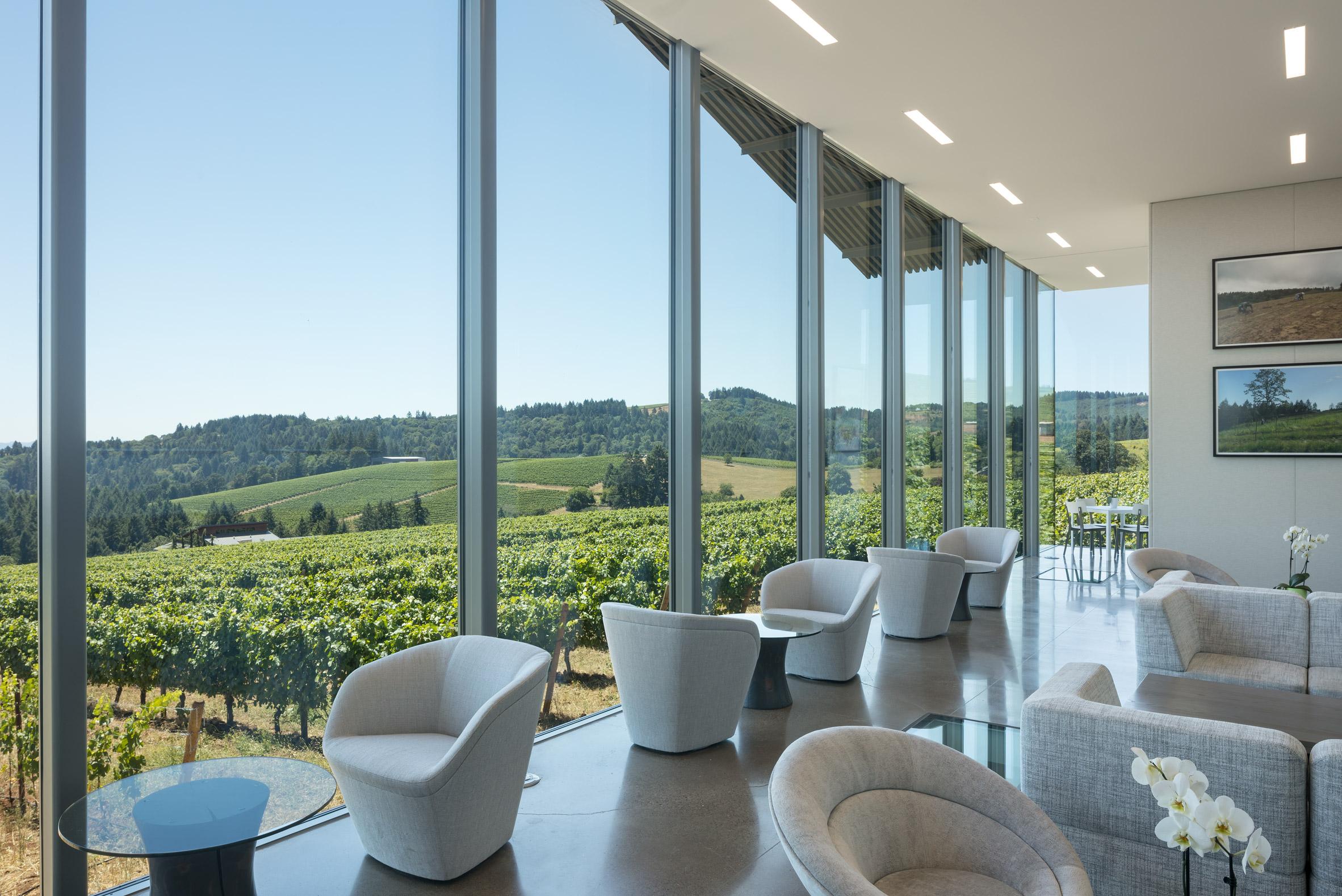 Furioso Vineyards by Waechter Architecture