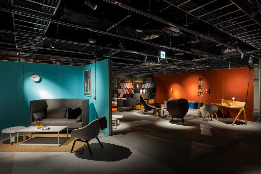 Hay pop-up store in Tokyo, designed by Schemata Architects/Jo Nagasaka