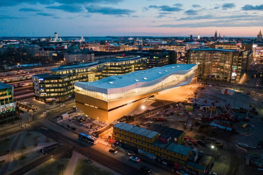 WAF World Building of the Year: Helsinki Central Library Oodi by ALA Architects