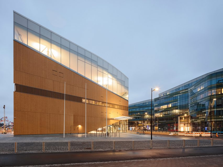 Helsinki Central Library Oodi by ALA Architects
