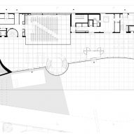 Ground floor plan of Oodi Helsinki Central Library by ALA Architects
