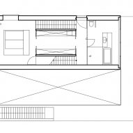 First floor plan of Hercule by 2001 in Luxembourg