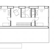 Second floor plan of Hercule by 2001 in Luxembourg