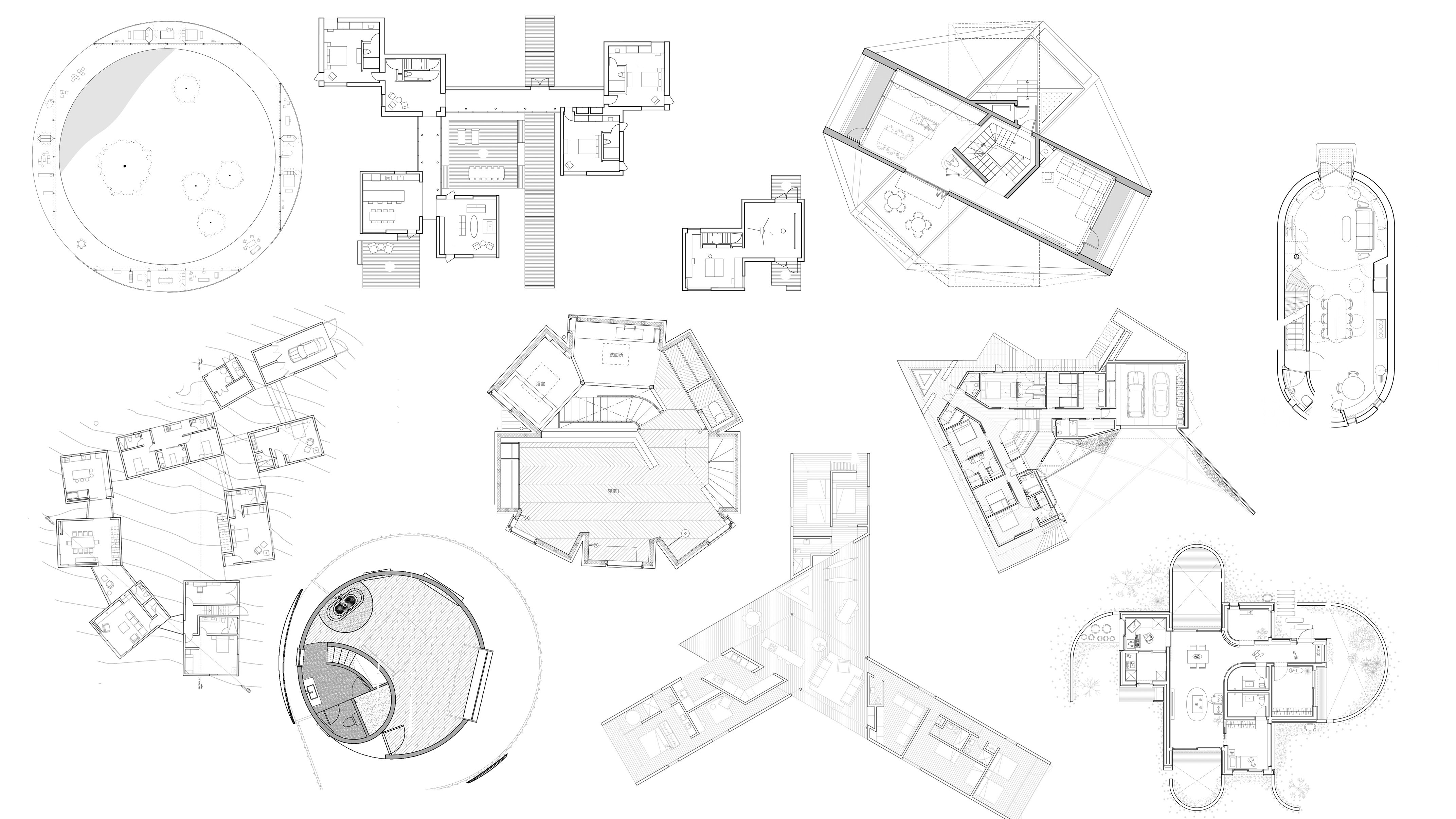 10 houses with weird, wonderful and unusual floor plans on unusual barn houses, unusual craftsman houses, unusual a frame houses, unusual modern houses,