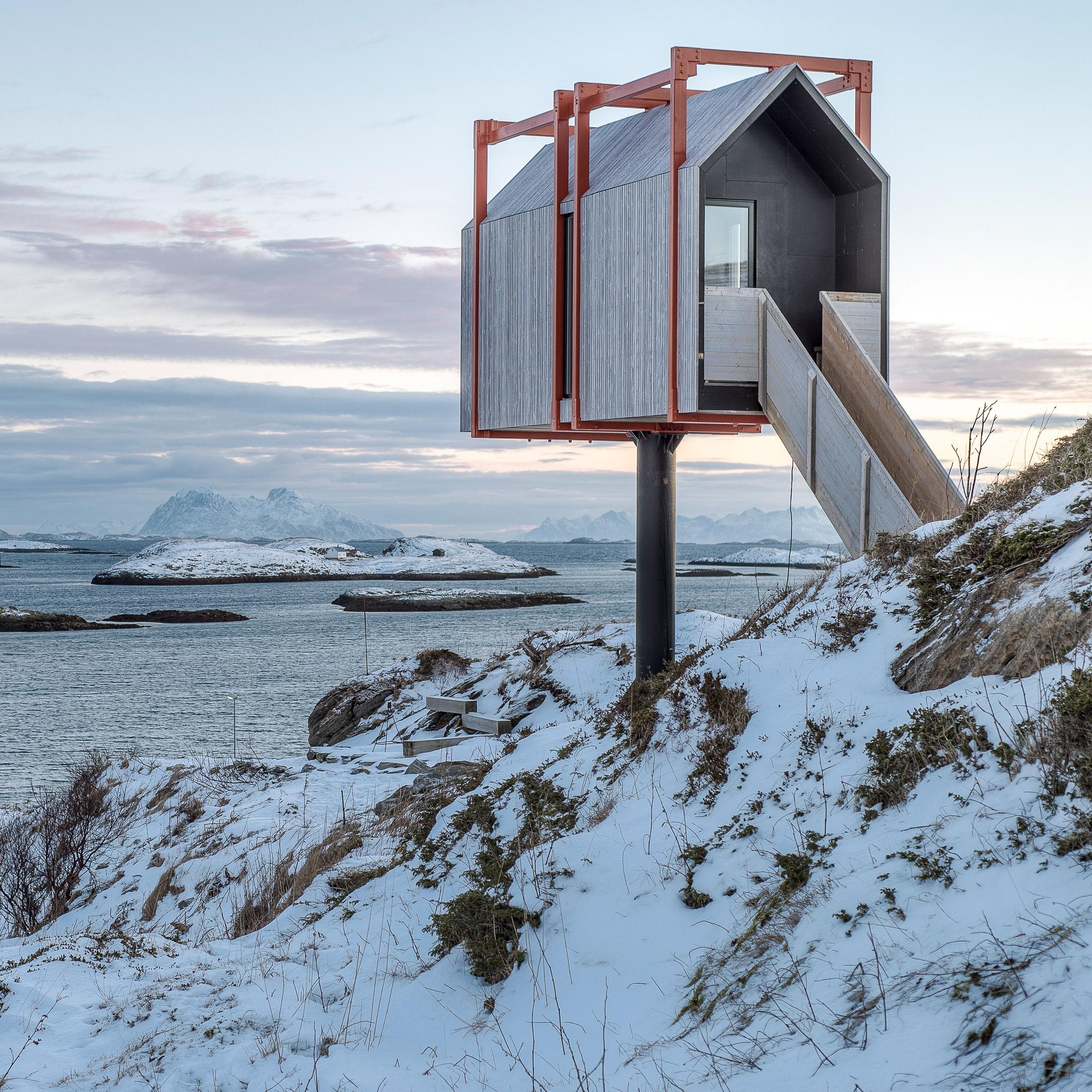 Urlaub Architektur's Holiday Architecture book roundup: Fordypningsrommet Fleinvær by TYIN Tegnestue Architects and Rental Eggertsson Architects