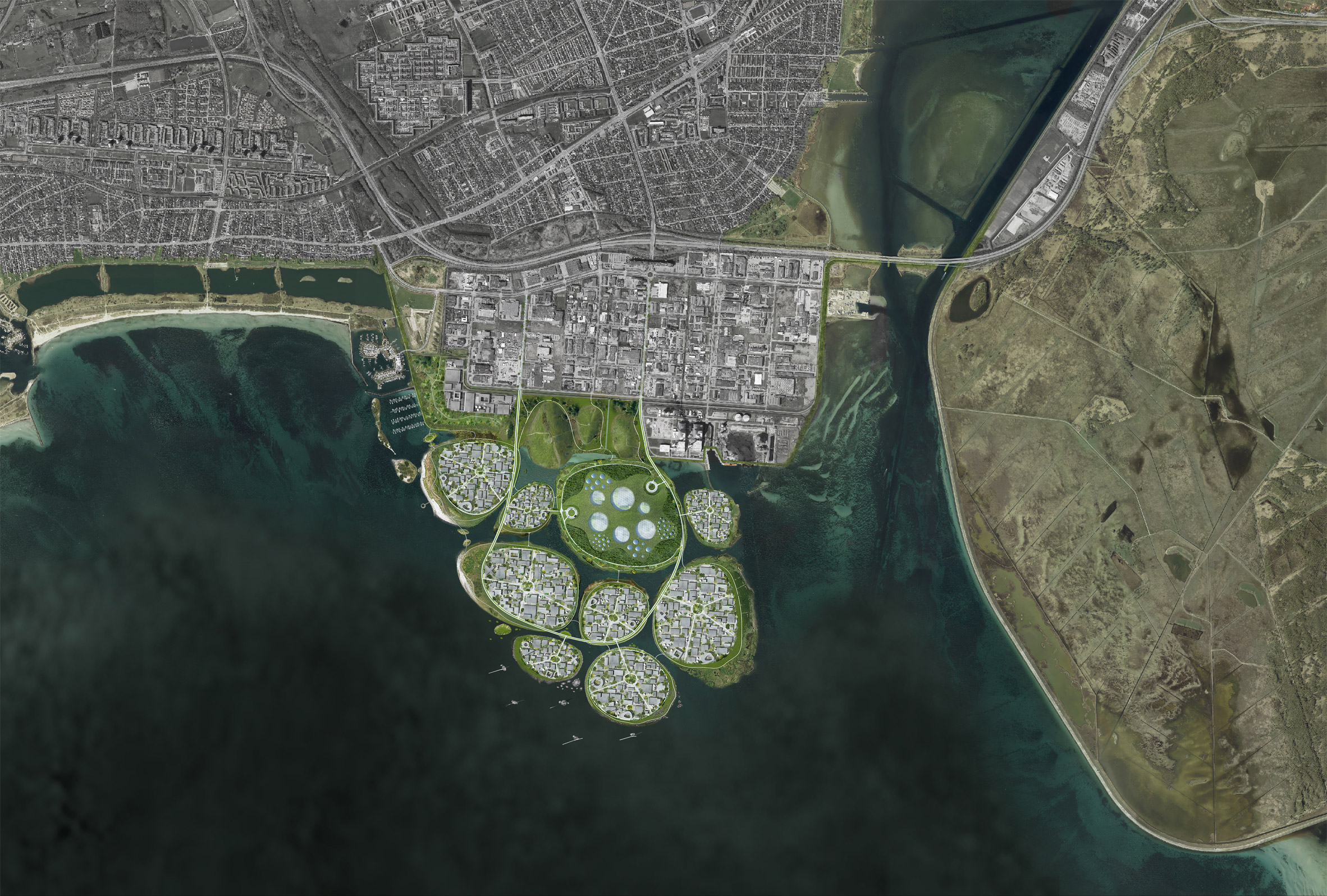 Holmene by Urban Power in Denmark