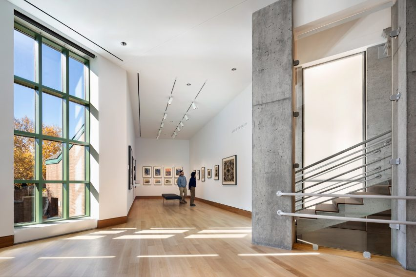 Hood Museum of Art overhauled by Tod Williams Billie Tsien Architects