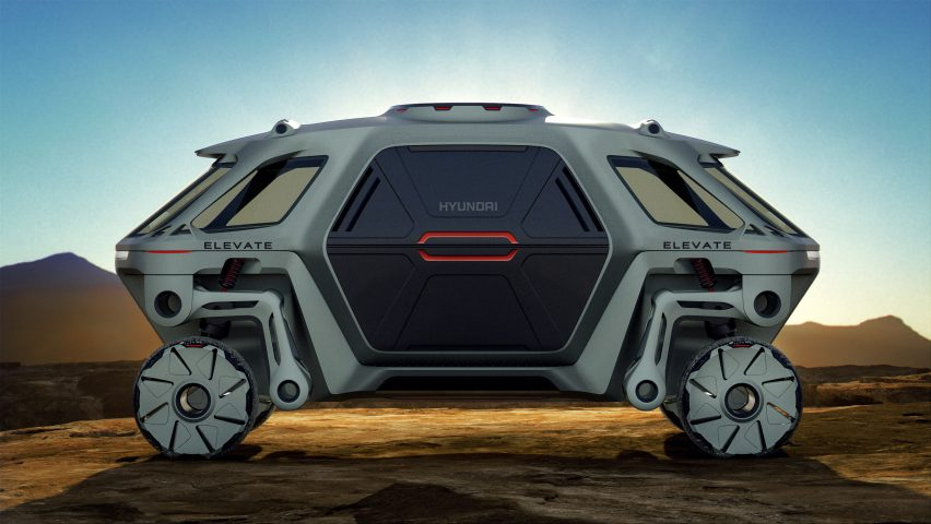 Hyundai unveils walking car concept at CES 2019 that could be the first responder in natural disasters