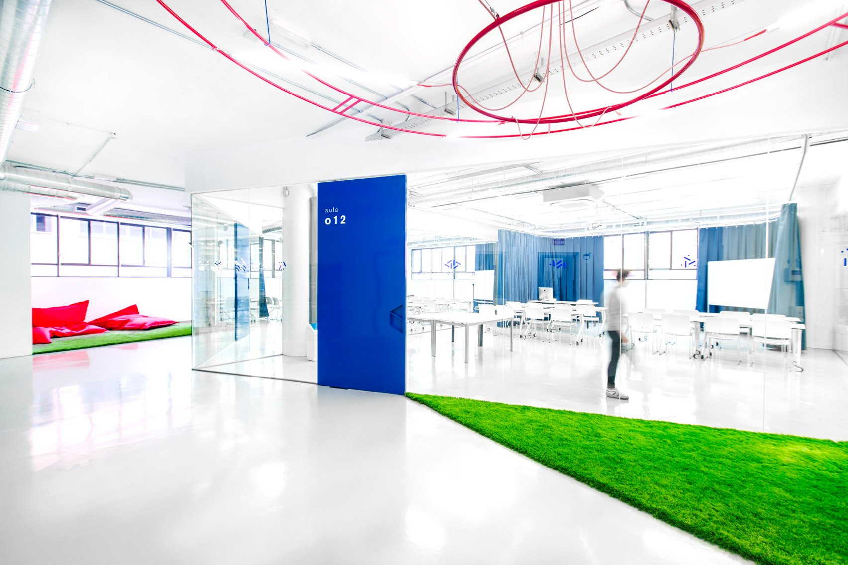Interiors of the IED Innovation Lab by Nacho Martin