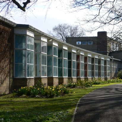 Impington Village College by Maxwell Fry and Walter Gropius