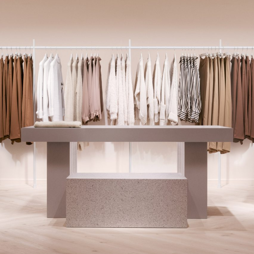 Stockholm travel guide: Gina Tricot store by Note Design Studio