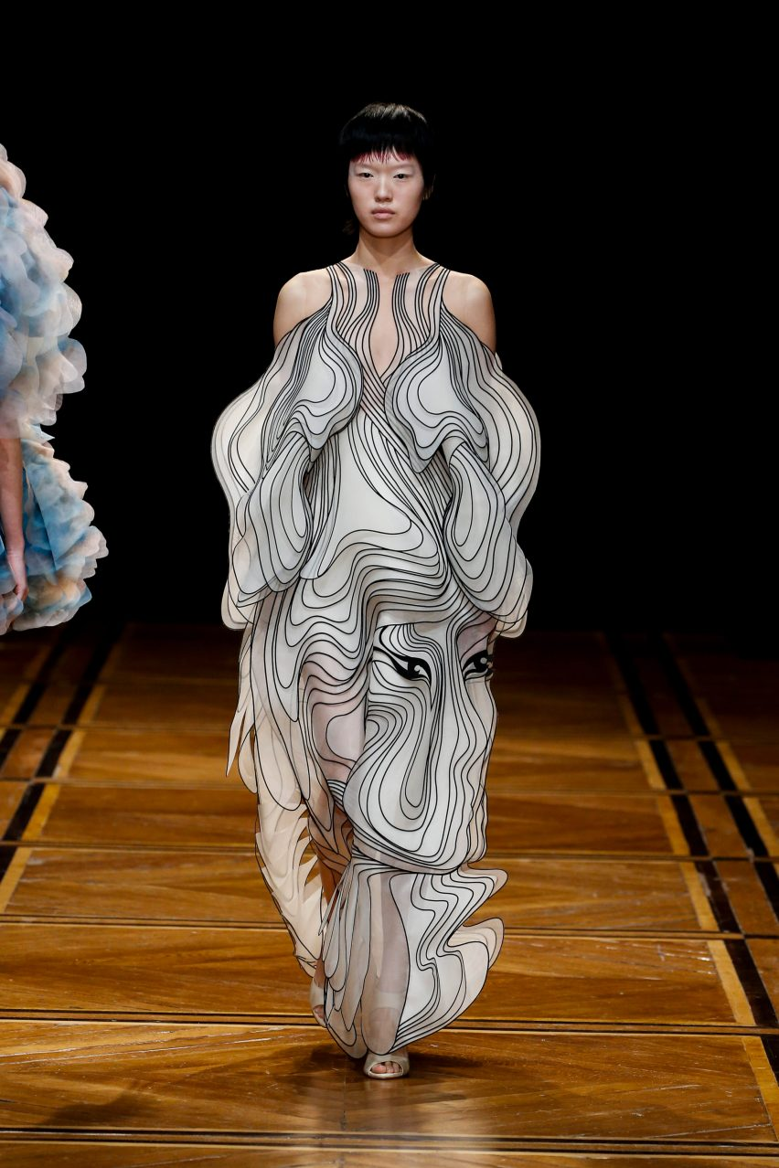 Iris van Herpen explores human-animal hybrids in Shift Souls couture collection