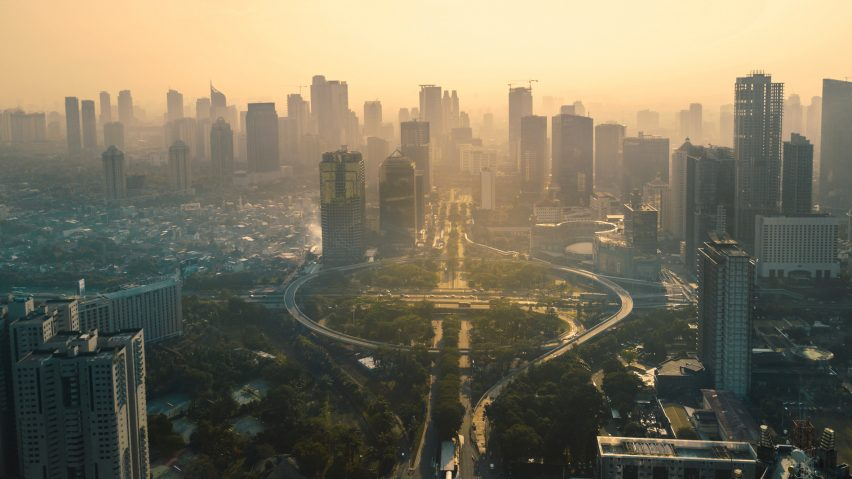 Photograph of Jakarta, Indonesia, is courtesy of Shutterstock