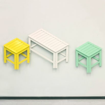 Jongha Choi Di-Dimension foldable furniture