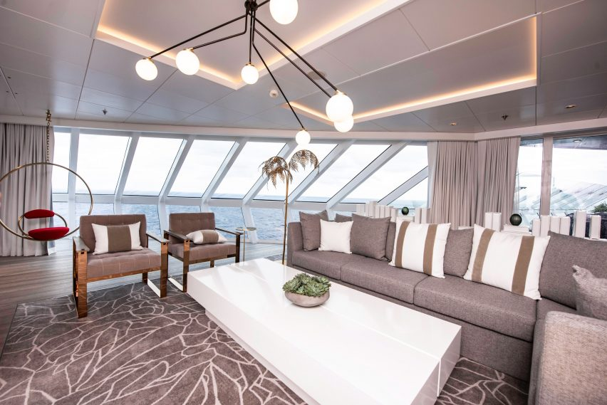 Kelly Hoppen Cruise Celebrity Edge interior design